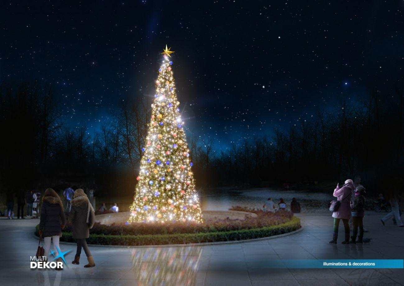 łazienki Królewskie Znów Oczarują świąteczną Iluminacją