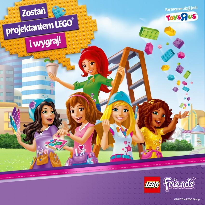 Zostań Projektantem Lego Friends Wielki Konkurs Dla Dzieci Na