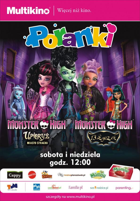 a147e53116fcb Czerwcowe Poranki o 12.00 w Multikinie z upiornymi pięknościami z Monster  High!