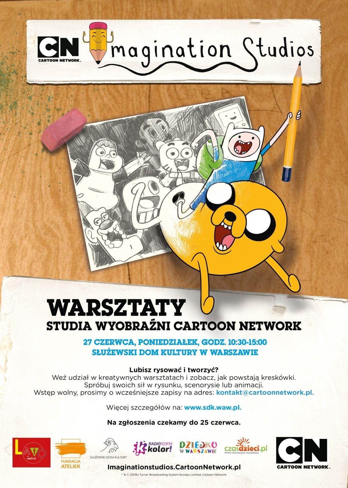 Rozpocznij Lato Ze Studiem Wyobrazni Cartoon Network Dziecko W